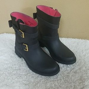 Kate Spade rubber boots